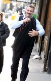 Photos and Pictures - Tom Selleck on the Set of ''Blue Bloods'' Shooting in New York City 01-20-2011 photo by John Barrett-globe Photos, Inc.2011 K67406jbb ***Exclusive***