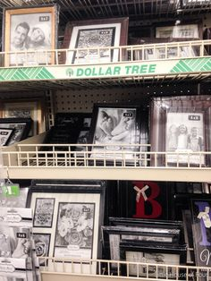 Have you ever wondered what you should buy at Dollar Tree? I've gathered my favorite must buy Dollar Tree items that will save you a ton of money on crafting and decorating! Dollar Tree Frames, Dollar Tree Haul, Dollar Tree Finds, Dollar Tree Decor, Dollar Tree Store, Dollar Store Crafts, Dollar Stores, Dollar Items, Rub N Buff