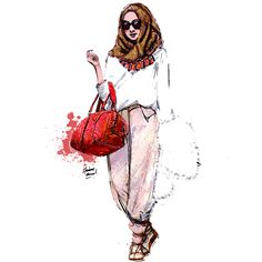 My Sketche For Today #illustration #sketchesofmind #hijab #fashion #sketchbook #drawing # ...