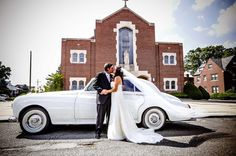 12 Fun Alternative Ways to Arrive at Your Wedding; Arrive in a vintage VW beetle or vintage VW van for the throwback couples!