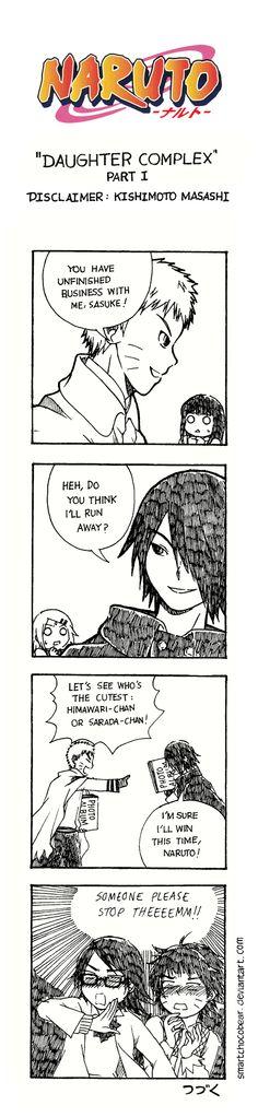 Naruto Doujinshi - Daughter Complex Part I by SmartChocoBear.deviantart.com on @DeviantArt