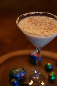 The perfect Easter Cocktail! Cadbury Creme Egg Martini ~ Nesting with Style