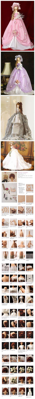 美轮美奂 可爱的韩国布娃娃(附制作过程图)
