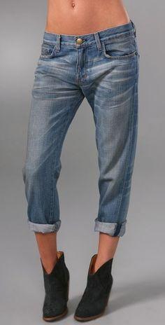 boyfriend jeans...Current & Elliot