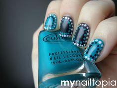 my nailtopia: Matte Dots! #nail #nails #nailart