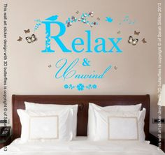 Hey, I found this really awesome Etsy listing at https://www.etsy.com/uk/listing/232086125/relax-unwind-quote-vinyl-wall-art