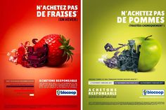 Eco Creative Advertising, Going Vegan, Stuffed Peppers, Healthy Recipes, Fruit, Vegetables, Diane, Food, Design Inspiration