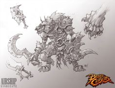 Concept Update - Lycelot Family Tree — Battle Chasers