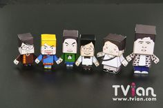 paper toy papercraft
