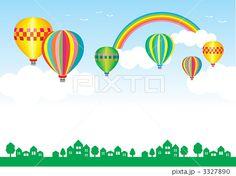 気球 イラスト - Google 検索