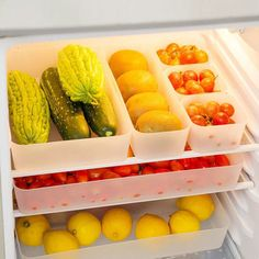 Plastic Kitchen Refrigerator Fridge Storage Rack Freezer Shelf Holder Kitchen Organization Cheap - NewChic Mobile.