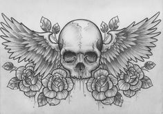 This is so cool but mum would hate if I got a skull tattoo haha