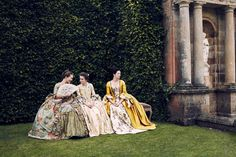 Outlander's Costume Designer on Recreating the Wild Opulence of 18th Century French Fashion