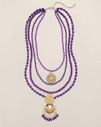 Terena Multi-Strand Necklace