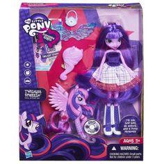 5 X My Little Pony Equestria Girls Twilight Sparkle Doll and Pony Set @ niftywarehouse.com #NiftyWarehouse #MyLittlePony #Cartoon #Ponies #MyLittlePonies