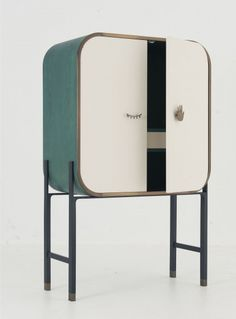 A collection of furniture and objects by Yabu Pushelberg