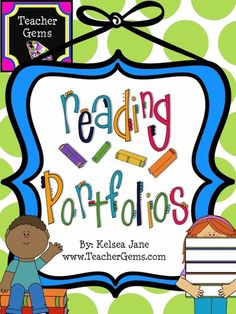 You've heard of writing portfolios but how about reading portfolios? Keep track of your students reading adventures throughout the year with this reading portfolio! #TpT #TeacherGems #Reading