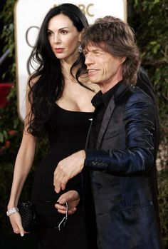 Mick Jagger and his girlfriend L'wren Scott. She was found dead, in her appartment in New York, March 17 2014 L'wren Scott, Mick Jagger, Elsa Peretti, Celebrity Gallery, Celebrity News, Carolina Herrera, Karl Lagerfeld, Rolling Stones Logo, Rollin Stones