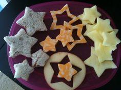 Creation Day 4: cheese stars