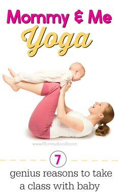 Bond with baby and make mom friends in a mommy & me yoga class! This is a fun activity for infants that provides many benefits like stress relief, exercise and more!