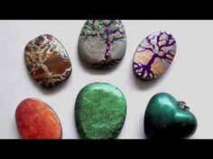 Tree of Life Polymer Video - over 600 FREE polymer clay tutorials at this website