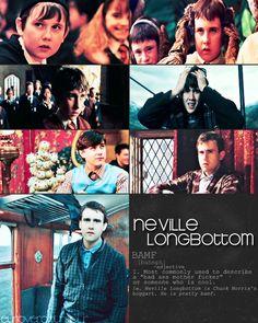 """Neville Longbottom is Chuck Norris' Boggart!"" LOVE it!"