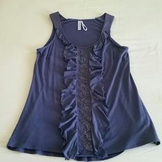 ☆CUTE TANK TOP☆ Tank top by Kische....Very cute!!! Goes great with jeans or long skirts! Brand new....never worn!! Tops Tank Tops