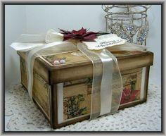 Neat redo shoe box...............