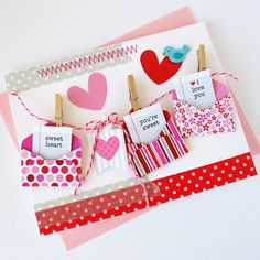 Card-Blanc by Kathy Martin: Love Letters