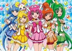 In america: Glitter Force  IN Japan: Smile Precure one of the very many Pretty Cure series