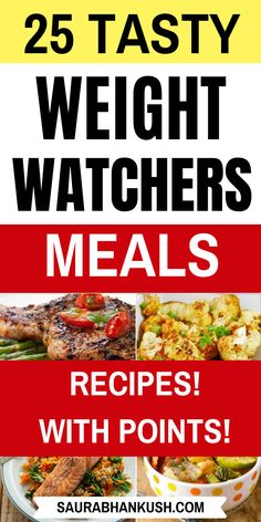 Easy Weight Watchers Meals with Points? Look at 25 Weight Watchers Meals Dinner with SmartPoints, and these ww meals include weight watchers Breakfast, weight watchers Lunch & weight watchers Dessert Weight Watchers Desserts, Weight Watchers Chili, Weight Watchers Casserole, Weight Watchers Lunches, Weight Watcher Smoothies, Weight Watchers Breakfast, Weight Watcher Dinners, Weight Watchers Chicken, Ww Recipes