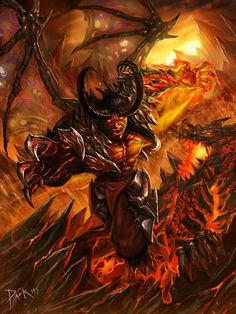Resultado de imagen de angels and demons art