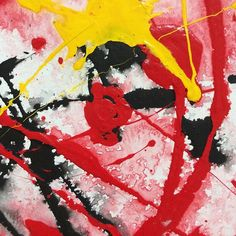 "Detail of ""Yellow Red Black 04 (paper) - 2011"". Come see this painting (plus 44 others!) at the Gam Gallery on August 29th at my much anticipated first SOLO exhibition.  #abstractart #abstractpainting #abstractartist #abstractexpressionism #fineart #modernart #vancouverart #vancouver #vancouverartist #artforsale #interiordesign #detail #closeup #details #zoom #texture #colour #fb"