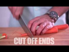 How to Small Dice a Carrot in No Time at All