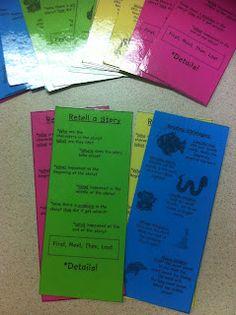 Reading Strategies bookmark!