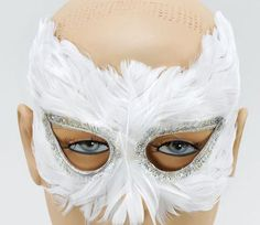 White Feather Eye Mask Masquerade Ball Venetian Theatrical Fancy Dress Home & Leisure Online http://www.amazon.co.uk/dp/B005W034LU/ref=cm_sw_r_pi_dp_RPrRvb1ZGV5G6