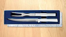 RADA S13 CARVING FORK/SLICER KNIFE CUTLERY GIFT SET - SER S HIGH CARBON SS