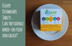 Ecover automatic #dishwasher tablets #cleaning #household