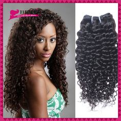 Brazilian Virgin Curly Hair 3pcs lot Brazilian Deep Wave Curly Afro Kinky Curly Human Hair Extensions Ali Queen Hair Products Hair Weaves