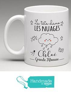 Mug personnalisé - la tête dans les nuages à partir des Le monde de Bibou https://www.amazon.fr/dp/B01LYVOWJ0/ref=hnd_sw_r_pi_dp_utBjybZT063BS #handmadeatamazon