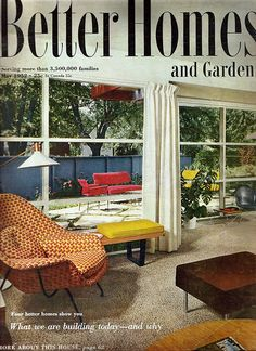 1959 Better Homes and Gardens Atomic Ranch Pinterest