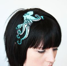 20. Something you   #modcloth #wedding  I love cephalopods (big octopus tattoo on my right arm), and blue's my favorite color!