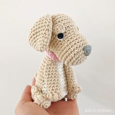 Made to Order GOLDEN RETRIEVER crochet amigurumi All Toys, Retriever Puppy, Golden Dog, Toy Sale, Hand Sewing, Dog Lovers, Crochet Hats, Puppies, Pattern