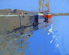 tony allain DPANZ,PSA : colour and light: Newlyn Harbour, Cornwall