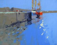 tony allain DPANZ,PSA : colour and light: Newlyn Harbour, Cornwall