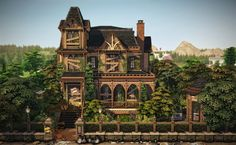 4 Kingdoms, Sims Building, Sims 4 Build, Sims 4 Houses, The Sims4, Sims Cc, Abandoned Houses, Fixer Upper, Home Interior Design