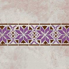 Moroccan Stencils   Star Border Stencils   Royal Design Studio