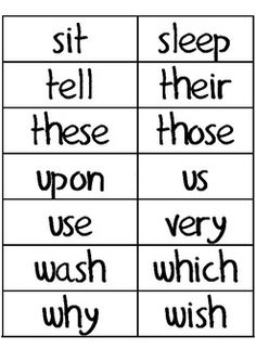 Dolch Second Grade Sight Words for Word Wall 2nd Grade Ela, 2nd Grade Reading, Kids Reading, Teaching Reading, Fun Learning, Second Grade Sight Words, Sight Word Flashcards, Reading Assessment, Spelling Lists