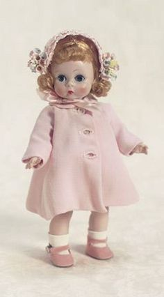 Pretty in pink, Madame Alexander 1950's