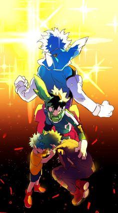 Izuku Midoriya - My Hero Academia \ ^^ / My Hero Academia Memes, Hero Academia Characters, My Hero Academia Manga, Anime Characters, Boku No Academia, Buko No Hero Academia, Manga Anime, Anime Art, Deku Anime